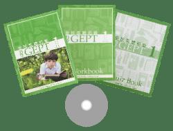 力克 GEPT 全民英檢初級 第 1 冊 ( 3 本書 + 1 套 CD )