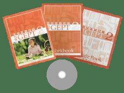 力克 GEPT 全民英檢初級 第 2 冊 ( 3 本書 + 1 套 CD )