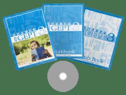 力克 GEPT 全民英檢初級 第 3 冊 ( 3 本書 + 1 套 CD )