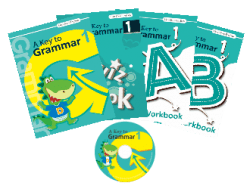 A Key to Grammar 1 ( 4 本書 + 1 套 CD )