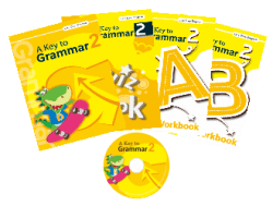 A Key to Grammar 2 ( 4 本書 + 1 套 CD )