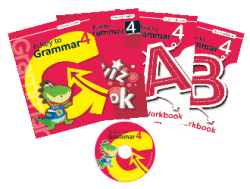 A Key to Grammar 4 ( 4 本書 + 1 套 CD )